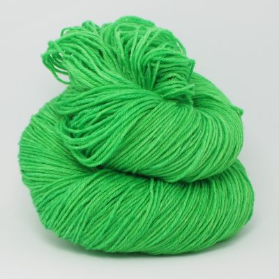 Bright Green* Merino-Twin 4-fach
