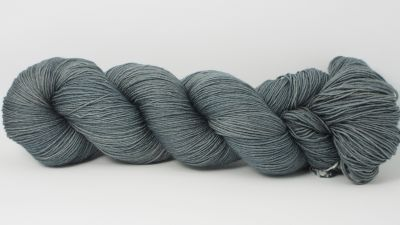 Gunmetal grey* Merino-Lace