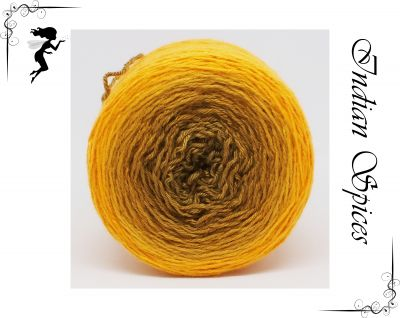 Indian Spices* Gradient yarn Merino/Cashmere/Silk - Fingering