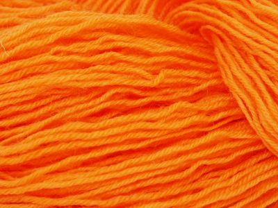 Soft Orange* Sockenwolle 4-fach