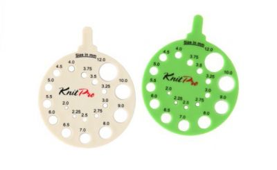 Knit Pro Knitting Pin Gauge