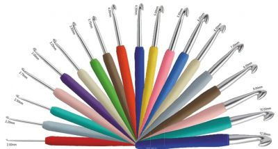 Knit Pro Waves Crochet Hook 2,00 - 3,75 mm choosable