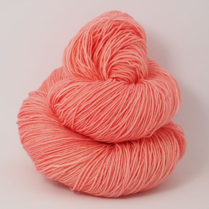 Coral Pink* Merino-Lace