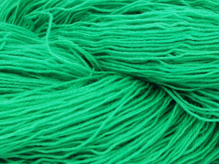 Kelly Green* Merino-Lace