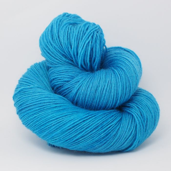 Peacock Blue* Sockenwolle 4-fach