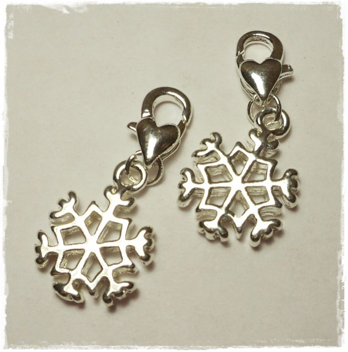 "2 stitchmarker for crochet ""snowflake"""