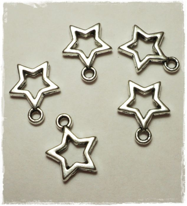 "Knitting Charms ""Star"""