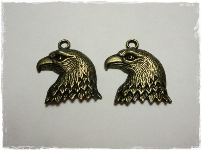 "Knitting Charm ""Eagle"""