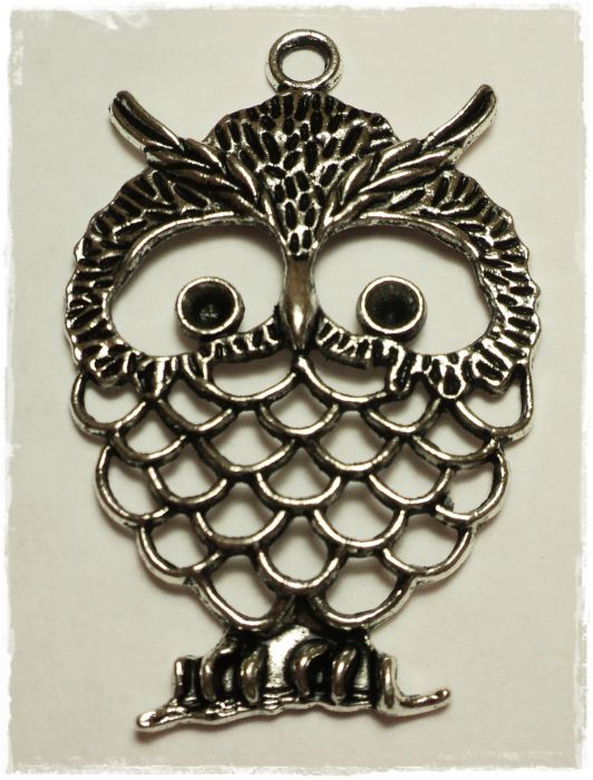 "Knitting Charms ""Owl"""
