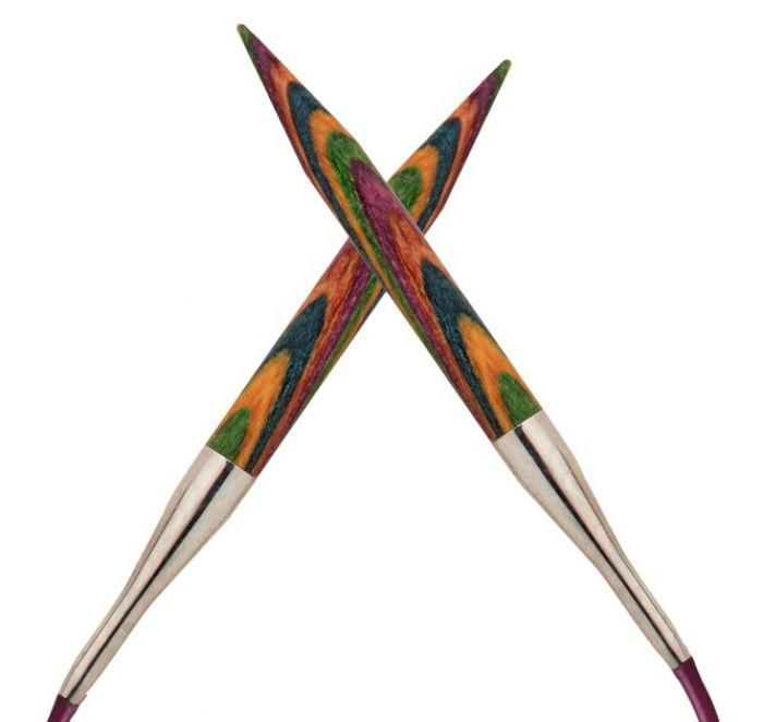 Knit Pro Interchangeable Symfonie Wood Needles 128mm